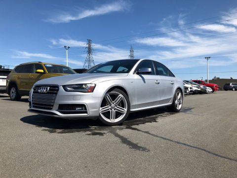 Certified Pre-Owned 2014 Audi S4 3.0 Progressiv 333HP! AWD